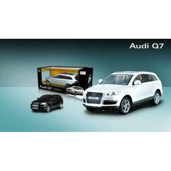 audi q7 1 14 blanc achat vente voiture camion cdiscount. Black Bedroom Furniture Sets. Home Design Ideas