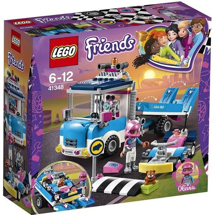 ASSEMBLAGE CONSTRUCTION LEGO® Friends Heartlake 41348 Le Camion de Service