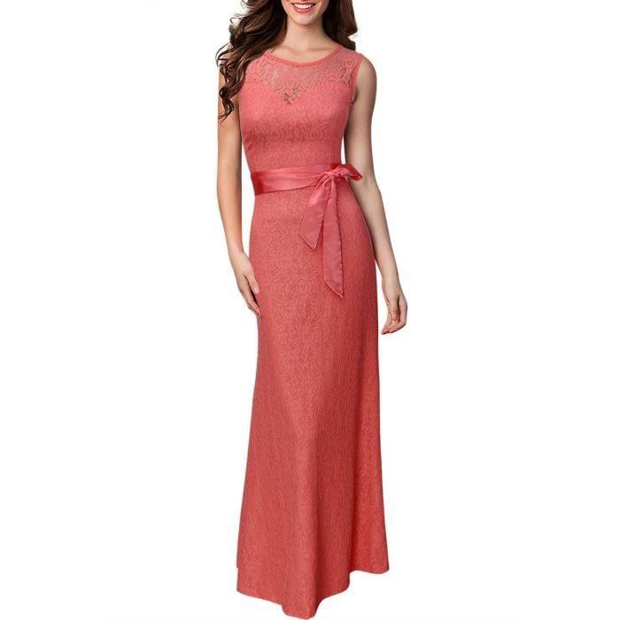 Robe De Soiree Rose Dentelle Luxe Longue Manche Cape Dos Nu Transparent Avec Ceinture Rose Achat Vente Robe De Ceremonie Cdiscount