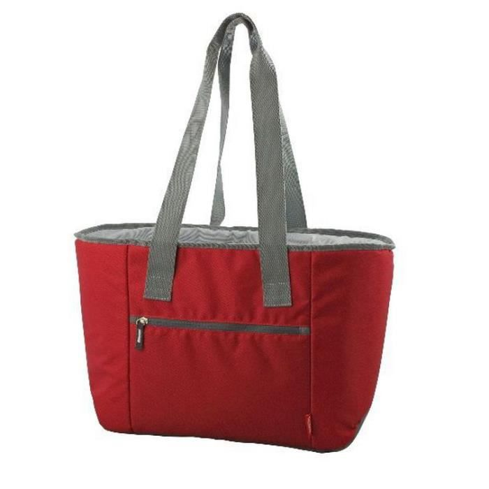 b62f5af3a9 Thermos - sac shopping isotherme 18l rouge - 138434 - Achat / Vente ...