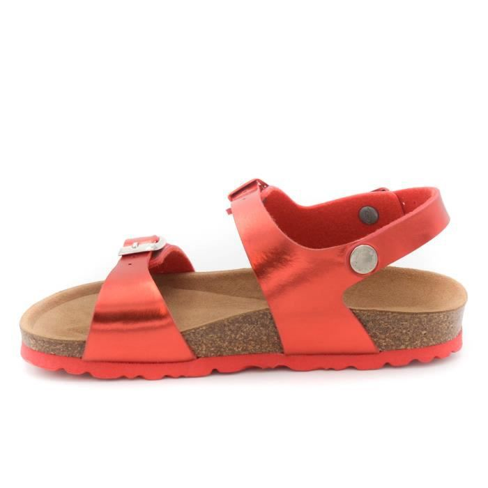 Grunland Junior sandale fille art.SB0090-40 Rosso T. 32