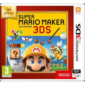 JEU 3DS Super Mario Maker 3DS Jeu Nintendo Selects