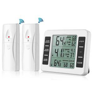 THERMOMÈTRE - BAROMÈTRE thermomètre électronique extérieur avec deux capte