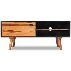 MEUBLE TV R132 Avec ce meuble TV en bois d'acacia massif, vo