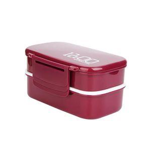LUNCH BOX - BENTO  Tonsee®Boîte à lunch à 2 niveaux PP Boîte à repas