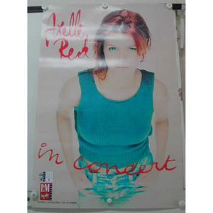 AFFICHE - POSTER Red Axelle - 40x60 cm - AFFICHE - POSTER - Envoi R