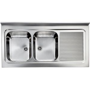 evier professionnel achat vente evier professionnel pas cher cdiscount. Black Bedroom Furniture Sets. Home Design Ideas