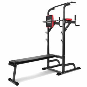 BARRE POUR TRACTION  PullUpFitness Chaise Romaine - Station Traction d