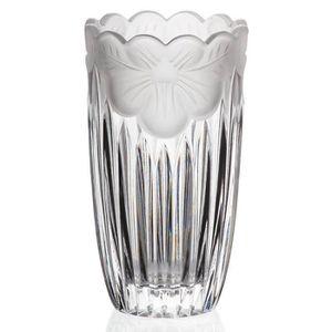 30cm Vase en verre incurvé