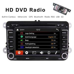 INSTALLATION AUTORADIO 7 pouces à écran tactile tête Unité voiture Rdaio