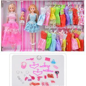 POUPÉE Cadeau d'anniversaire Barbie poupée princesse plus