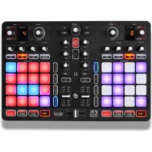 TABLE DE MIXAGE HERCULES P32 DJ - Console DJ avec 32 pads et carte