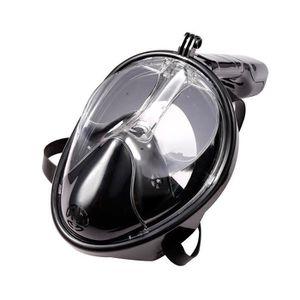 MASQUE DE PLONGÉE Masque de plongée GoPro à plomb avec tube respirat