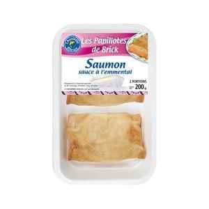 FEUILLETES - NEM  2 croustillants de saumon et crevettes L'Assiette