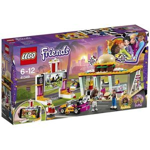 ASSEMBLAGE CONSTRUCTION LEGO® Friends 41349 Le Snack du Karting