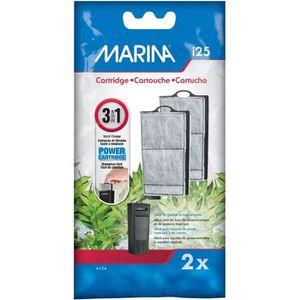 FILTRATION - POMPE MARINA Paquet de 2 cartouches de filtration pour i