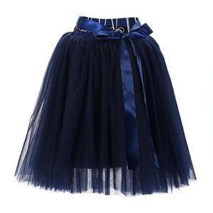 JUPE de haute qualité jupe courte plissée Gaze adulte T