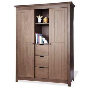 armoire taupe achat vente armoire taupe pas cher. Black Bedroom Furniture Sets. Home Design Ideas