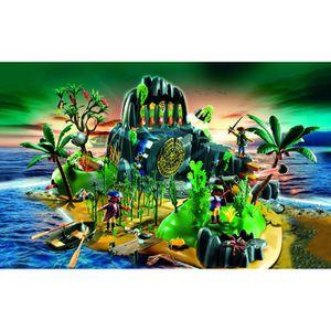 UNIVERS MINIATURE Playmobil - 5134 - Ile mystérieuse des pirates
