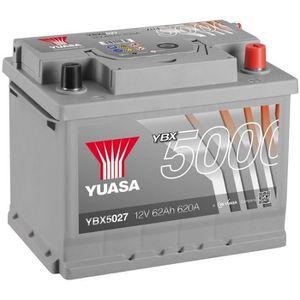 BATTERIE VÉHICULE YUASA Silver High Performance Batterie Auto 12V 62