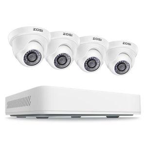 CAMÉRA DE SURVEILLANCE ZOSI 1080p HD Kit Caméra de Surveillance avec 8CH