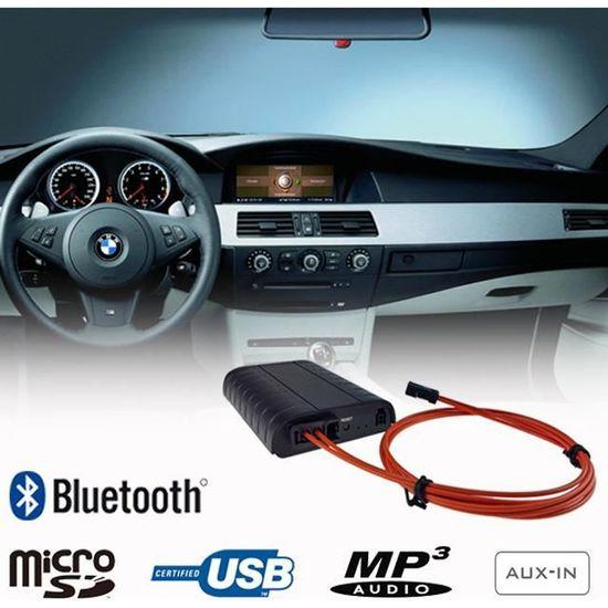 CD Pour BMW Adaptateur Bluetooth pour autoradio Pour MP3 Mains libres