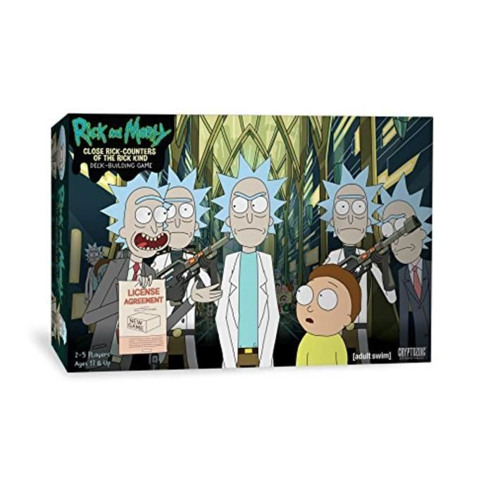 Piece Detachee Table Multi-Jeux TP7I5 Rick & Morty Deckbuilding Game Close Rick-Counters of The Rick Kind Board Game
