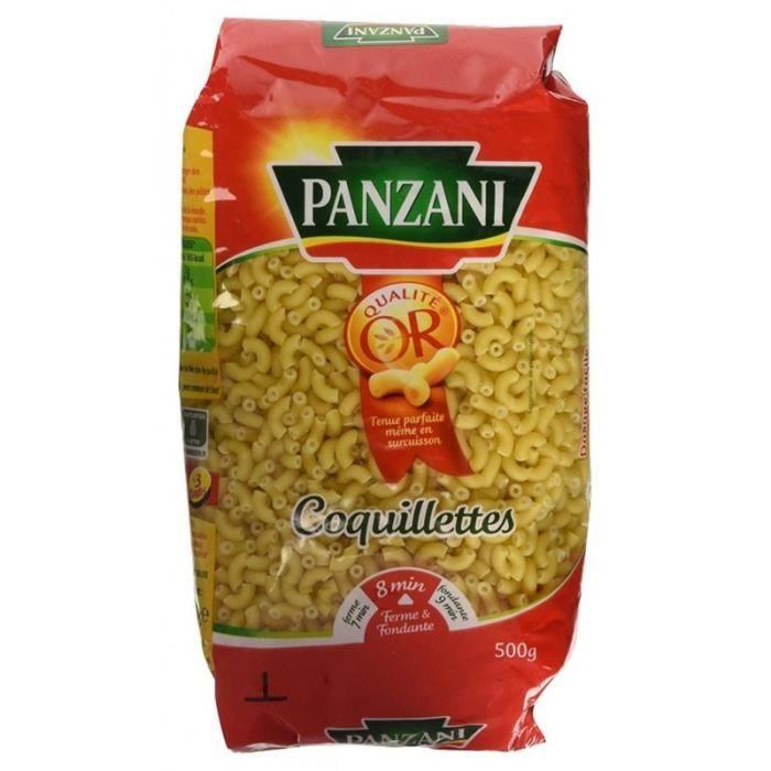 Panzani Coquillettes 500g (lot de 5)