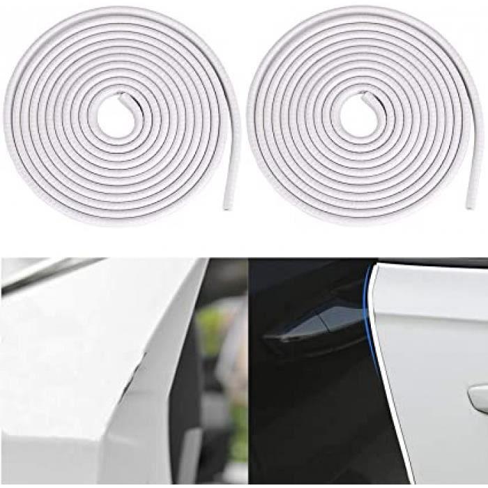protection portiere voiture 2pcs 5m protege portiere voiture u-forme protections bord joint de portiere auto pour la porte de voitur