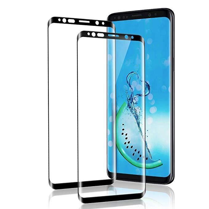 [2 Pièces] Verre Trempé Galaxy S9, Protection Écran Galaxy S9, [sans Bulle, Haute Transparence, Anti Empreintes Digitales, Dureté 9H