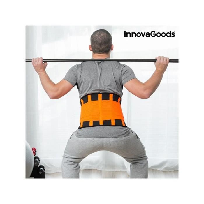 INNOVAGOODS Gaine sportive correctrice et amincissante - Taille XL