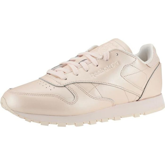 Reebok Classic Leather Femmes Baskets Rose clair - 8 UK