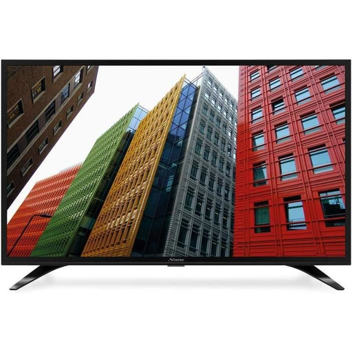 Strong SRT 40FB5203 Full-HD LED Smart-TV - Téléviseur, 101cm, 40-, 1920x1080 Pixels (FHD, HDTV, Netflix, Youtube) noir 2129