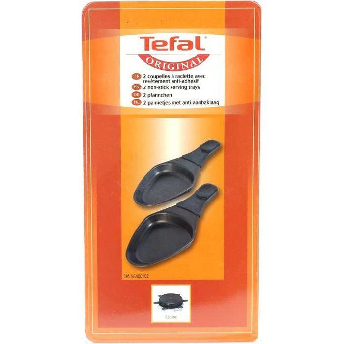 Poelon ovale par 2 pour Raclette Tefal - 3665392103349