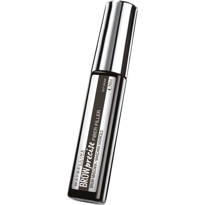 MAYBELLINE NEW YORK Mascara sourcils Marron profond - 8 ml