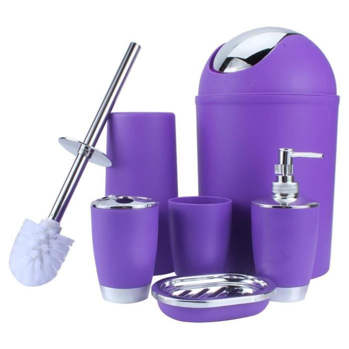 porte-Savon Tumbler Distributeur 4x salle de bains Accessoires Set-Brosse à dents Holder
