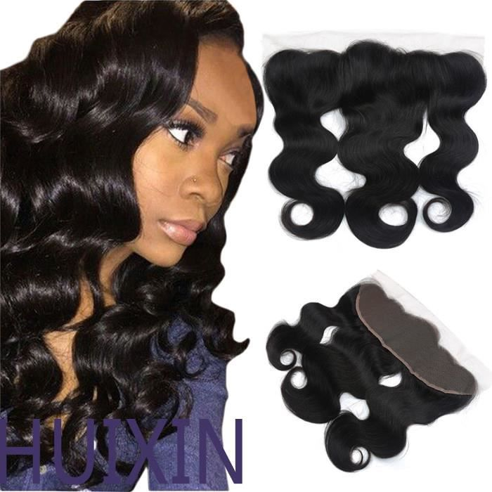PERRUQUE - POSTICHE 1 pièce 13*4 Lace Front Closure Extension Tissage