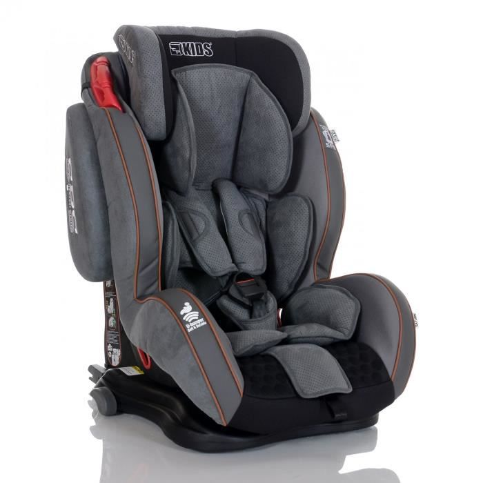 si ge auto isofix saturn ifix bebe 9 36 kg gris argent avec system protection laterale sps et. Black Bedroom Furniture Sets. Home Design Ideas