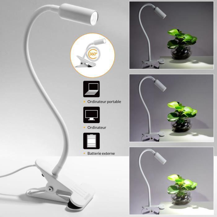 DEL Lampe de bureau table de nuit Lampe Bureau Lampe De Table Lampadaire Liseuse Variateur