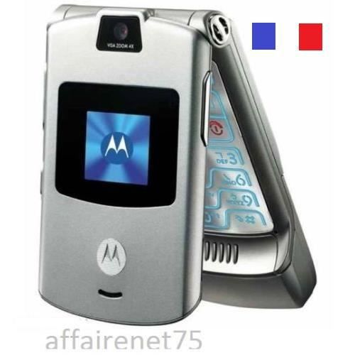 t l phone portable motorola razr v3 neuf d bloqu t l phone portable prix pas cher cdiscount. Black Bedroom Furniture Sets. Home Design Ideas