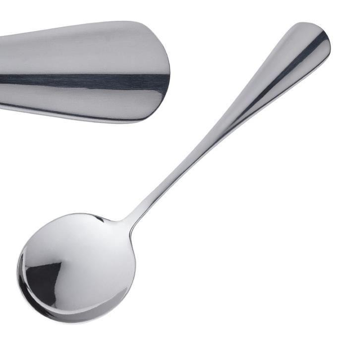 Olympia Henley Cuillère à café//dessert spoon-couverts en acier inoxydable-Pack de 12