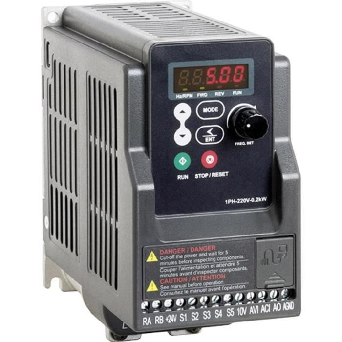 ALIMENTATION Convertisseur de fréquence FUS 075 L5 Peter Electr