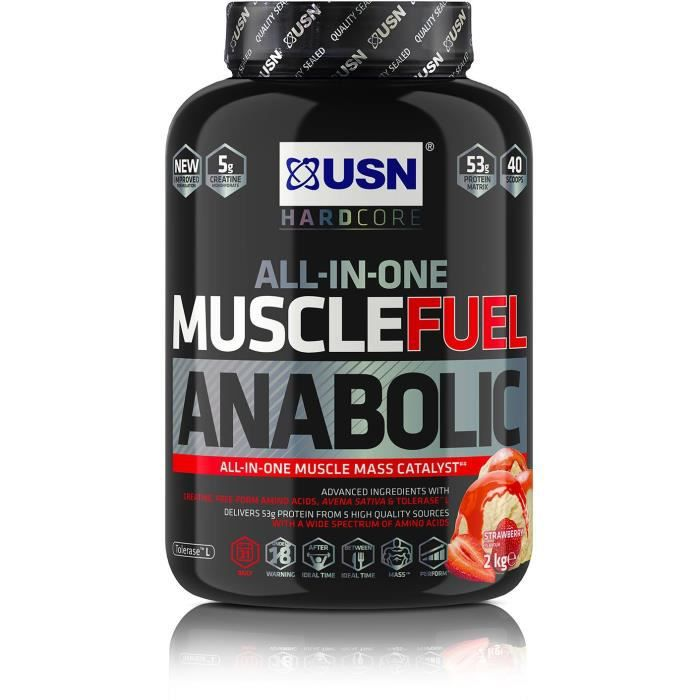 usn anabolic muscle fuel before and after