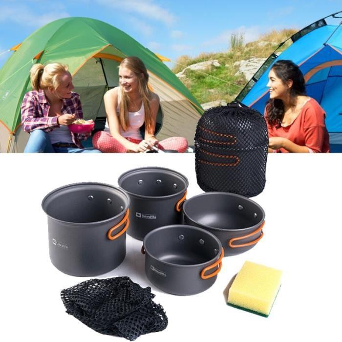 Noir Outdoor 2 brûleurs Gamme-durable /& puissante Poêle parfait pour le camping