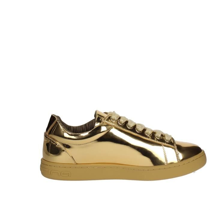 Fornarina Sneakers Femme Or, 40