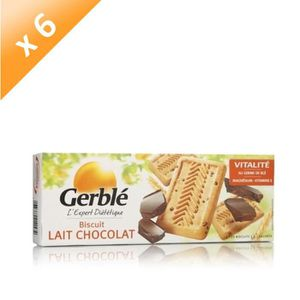 BISCUITS SECS GERBLE Biscuits Lait Chocolat - 230 g x6