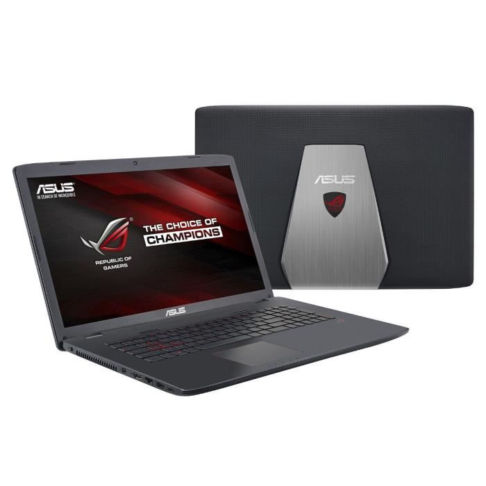 asus asus rog pc portable gamer 17 gl742vw ty134t