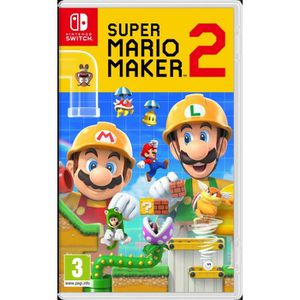 JEU NINTENDO SWITCH Super Mario Maker 2 Jeu Switch
