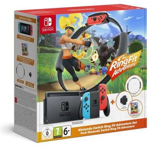 Console Nintendo Switch + Ring Fit Adventure
