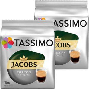 CAFÉ CD-704Tassimo Jacobs Espresso café ristretto, d'un